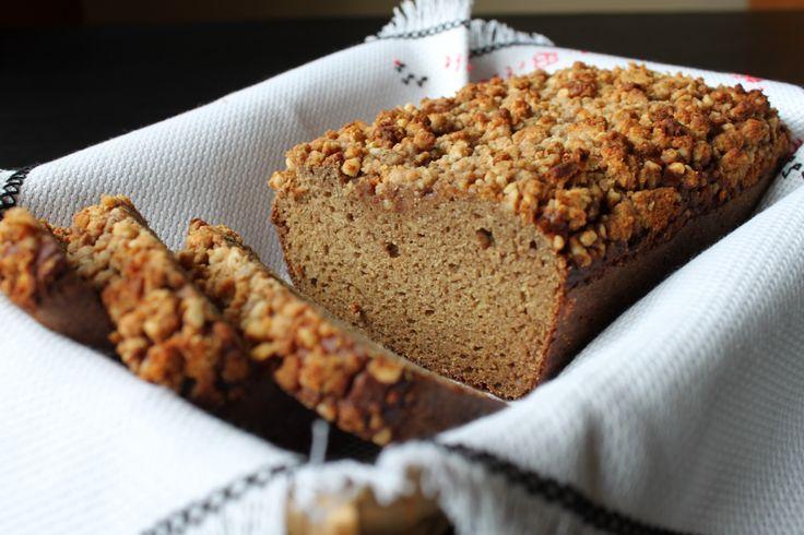 Coconut Flour Zucchini Bread (with Crumble Topping) | The Unrefined Kitchen | Paleo & Primal Recipes