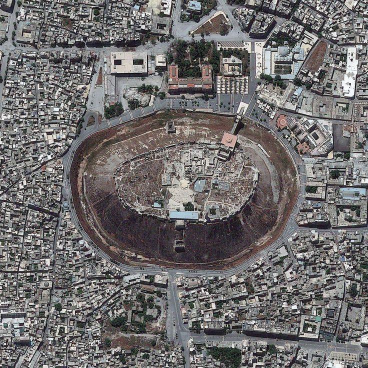Aleppo Syria May 26 2013 The Citadel Of Aleppo