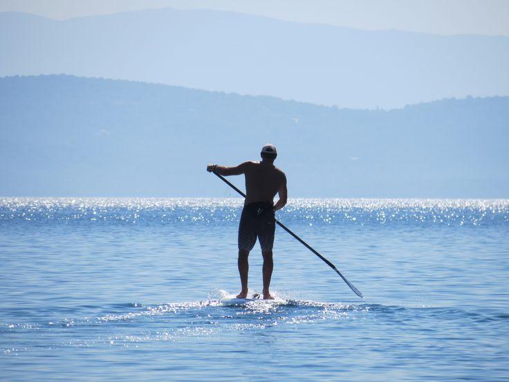 Greece, SUP boarding, Flat water cruising.