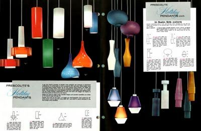 Mid-Century Pendant Lights