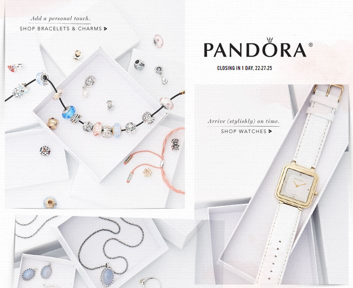 Pandora Sale – Watches, Bracelets, Earrings and More from $15 #pandora #sale