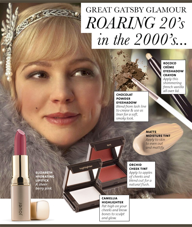 Great Gatsby style the Jouer way. Loved her make up, it just looked so ethereal
