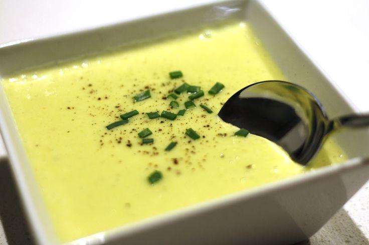 Potato Leek Soup made with Tefal Cuisine Companion