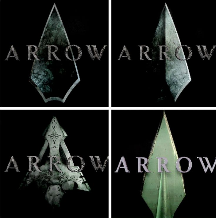 #arrow intro's Season 1-4