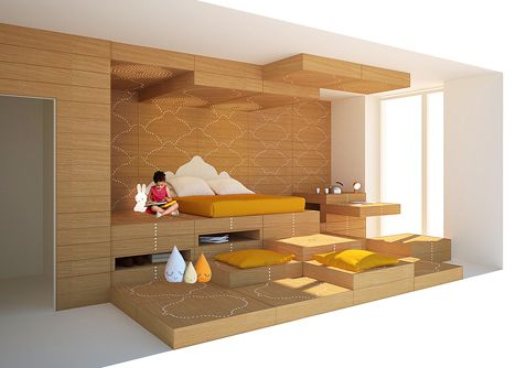 Apartment 7 by Manuelle Gautrand for Ronald McDonald charity house