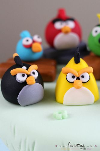 Angry birds cake 5