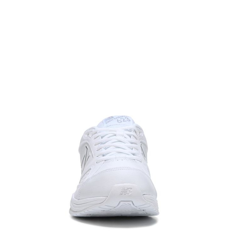 New Balance Men's 623 V3 Medium/Wide/X-Wide Sneakers (White Leather) - 11.5 2E