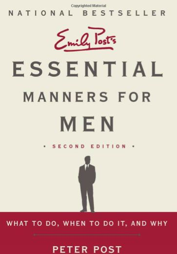 Essential Manners for Men ;)