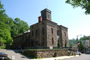 The old jail at Jim Thorpe