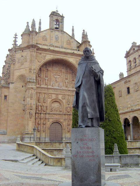 Salamanca - Convento de San Esteban © Robert Bovington http://bobbovington.blogspot.com.es/2011/11/salamanca.html