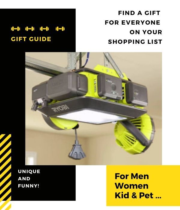 Ultra Quiet Smart Garage Door Opener Avoid Making A Loud Ruckus Every Time You Drive In And Out Of Your Home By Installing This U Best Gifts For Men Best Gifts Gifts