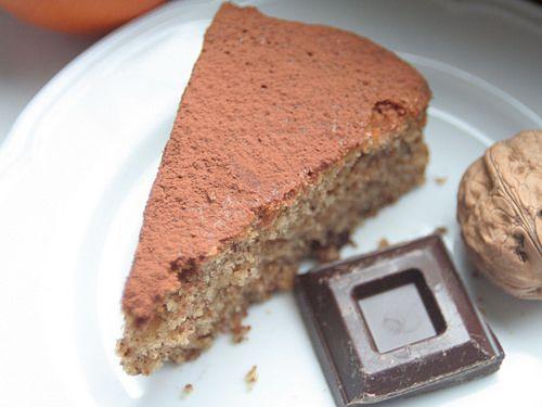 Torta Arancia e Noci col Bimby
