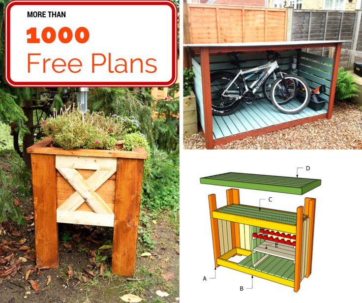 Free building plans for the beginner diy-er up to the advanced woodworker! Lots