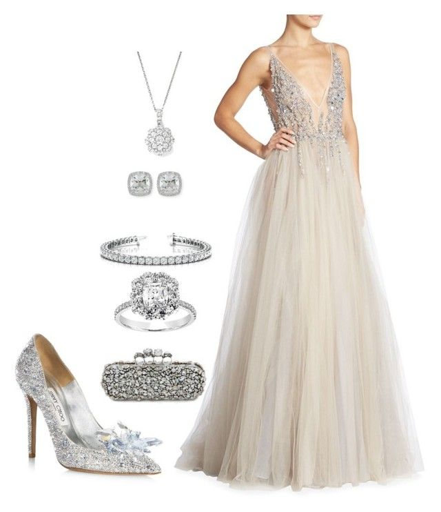"""""""Shine like a star 🌟"""" by extravagantf on Polyvore featuring Jimmy Choo, Berta, Frederic Sage, Bloomingdale's and Alexander McQueen"""