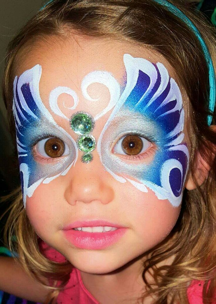 1000 Images About Butterfly Face Paint Designs On