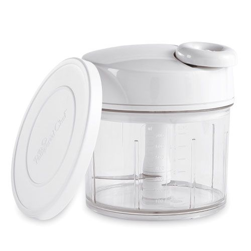 Free shipping on my Pampered Chef page on qualified orders today only.   This is one of my favorites. I use it 3-5 times a week Quick and easy to clean. It's even better than the Pampered Chef food chopper.