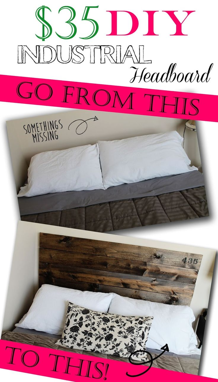 Best 25+ Industrial headboards ideas on Pinterest | Rustic ...
