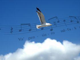 Music is a pair of wings