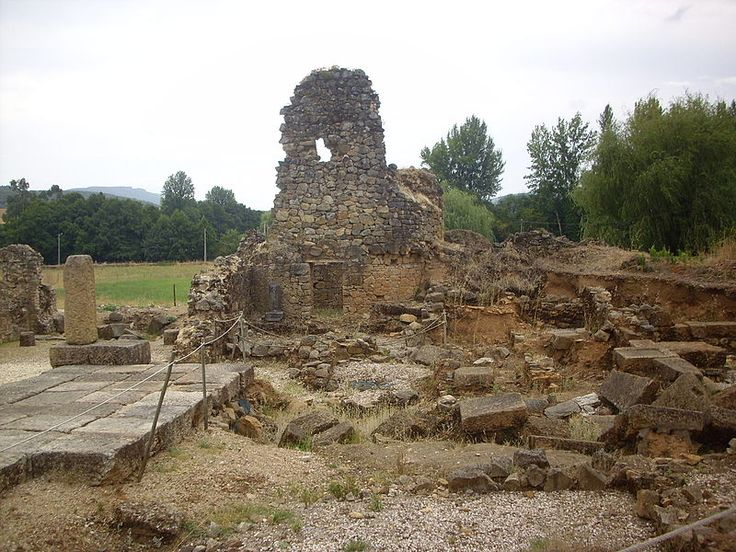 Ruins of the Roman town of Ammaia, Portugal