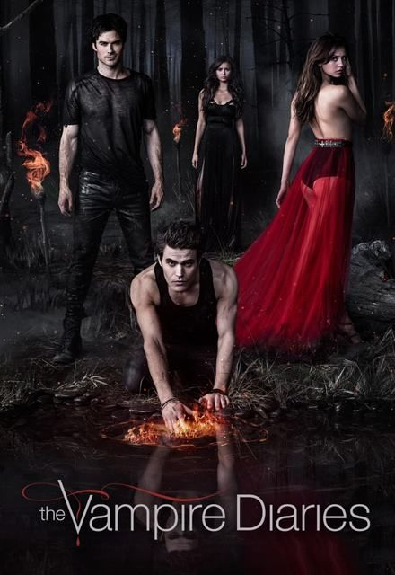 The Vampire Diaries Show Poster