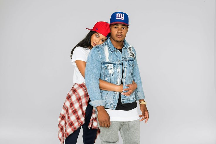 New York Giants Sterling Shepard and Model Chanel Iman By Dominic Cooley For New Era NFL Sideline Collection http://www.herpinkjersey.com/new-york-giants-sterling-shepard-model-chanel-iman-dominic-cooley-new-era-nfl-sideline-collection/