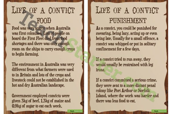 australian convicts essay Convicts and their legacy for almost 80 years, or the founding third of australia's urban existence, british convicts were transported to australia, a fact that still embarrasses many australians.