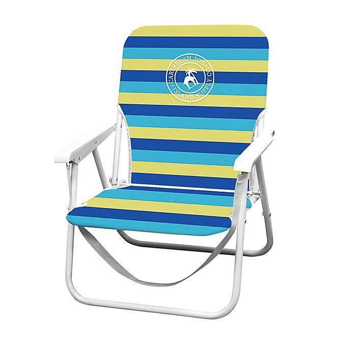 Caribbean Joe Folding Beach Chair In 2020 Folding Beach Chair Beach Chairs Beach Chair Umbrella
