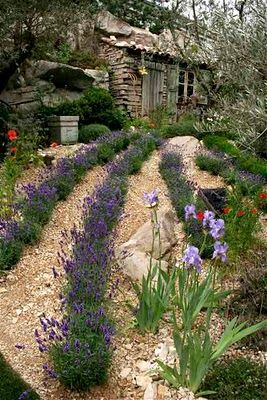The L'Occitane Garden  Designer James TowillisLavender Gardens, Modern Gardens, Rustic Gardens, Garden Design, Gardens Decor, L Occitane Gardens, Beautiful Gardens, Gardens Design, Interiors Gardens