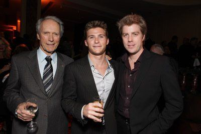 Clint Eastwood, Kyle Eastwood and Scott Eastwood at event ...