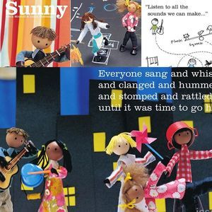 """The children's book """"Sunny"""" — now available online for free! Learn all about the sounds of the city in this book for children 3-5"""