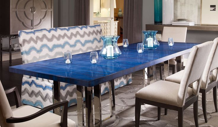 Check that dining table out!  Century Furniture Collection: Milan SKU: 849-303