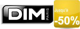 Collants, lingerie et sous-vêtements en solde jusqu'à -50% sur Dim.fr