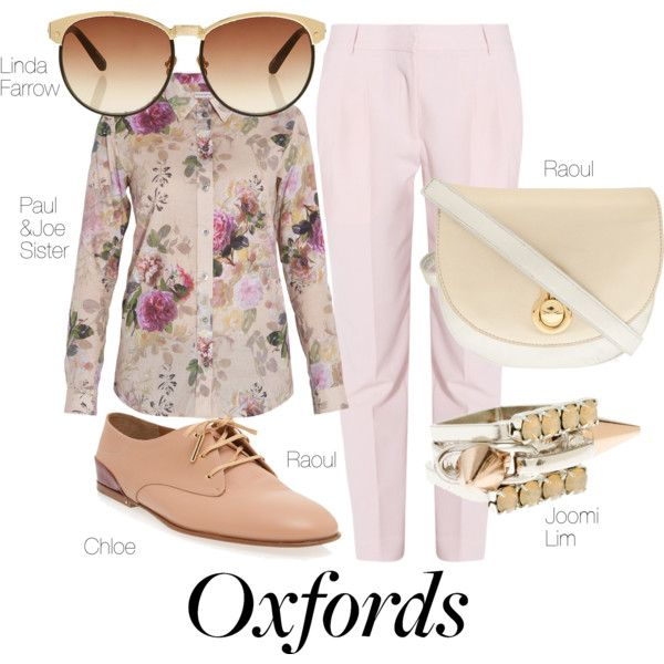 """""""What Do You Wear With Oxfords?"""" by boutique1 on Polyvore"""