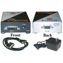 Gefen DVI-D to VGA Converter, Digital to Analog Video, DVI-D Female to HD15 Female