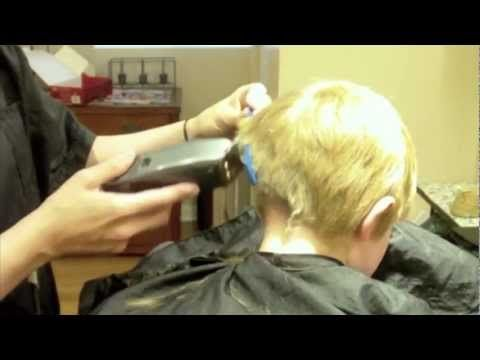 How to do a Kids Haircut: Little Boys Hairstyle: Clipper Cut Over Comb