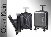 Exkluzív megjelenésű, laptop és tablet tárolására alkalmas, poggyász méretű Calvin Klein bőrönd