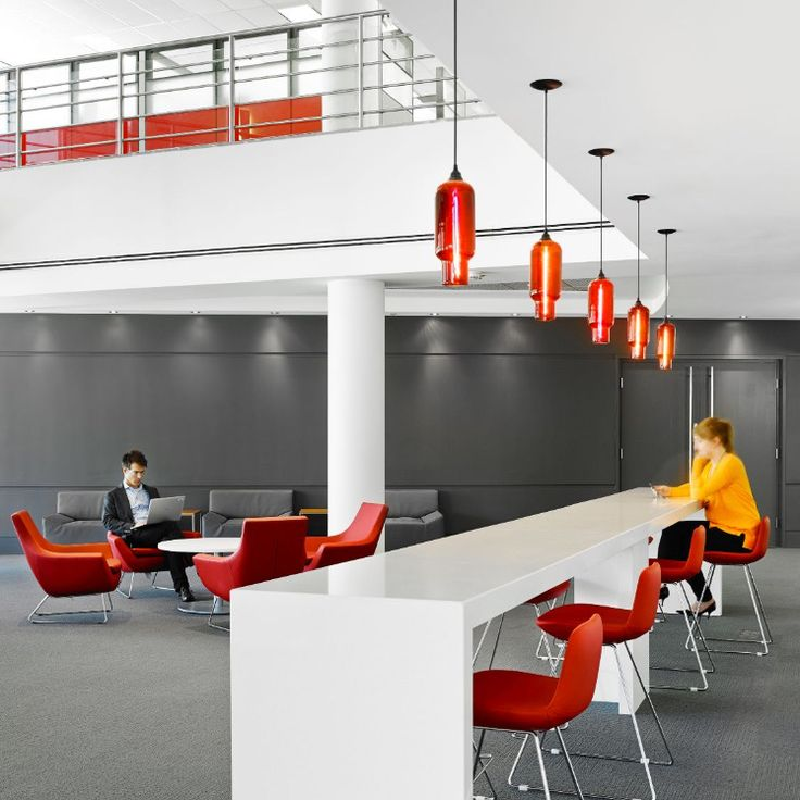 Crimson Pharos #pendant #lights Adorn The Eli Lilly And Companyu0027s Wellness  #lounges In
