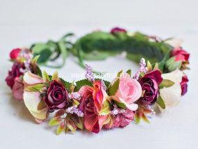 цветочный венок, венок с цветами, венок из цветов, цветочный венок, свадебный венок, венок на голову, полевой венок, ободки с цветами, девичник