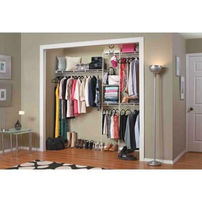 Closetmaid Closet Organizer Kit White 5 To 8 For