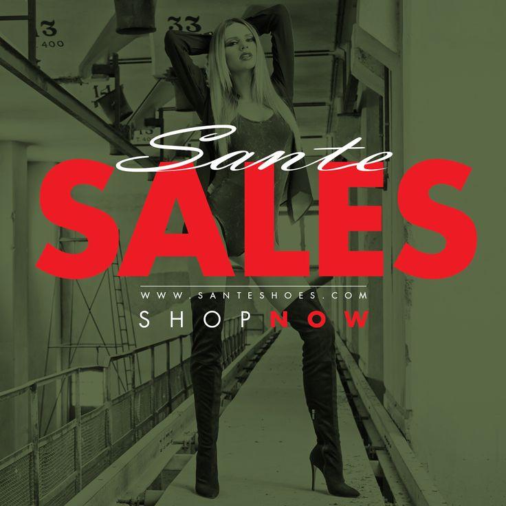Winter SALES!!! #followSANTE #salesSANTE Shop NOW: www.santeshoes.com