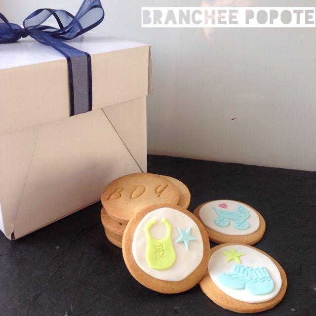 Sablés décorés : baby Shower {DIY} | Branchée Popote