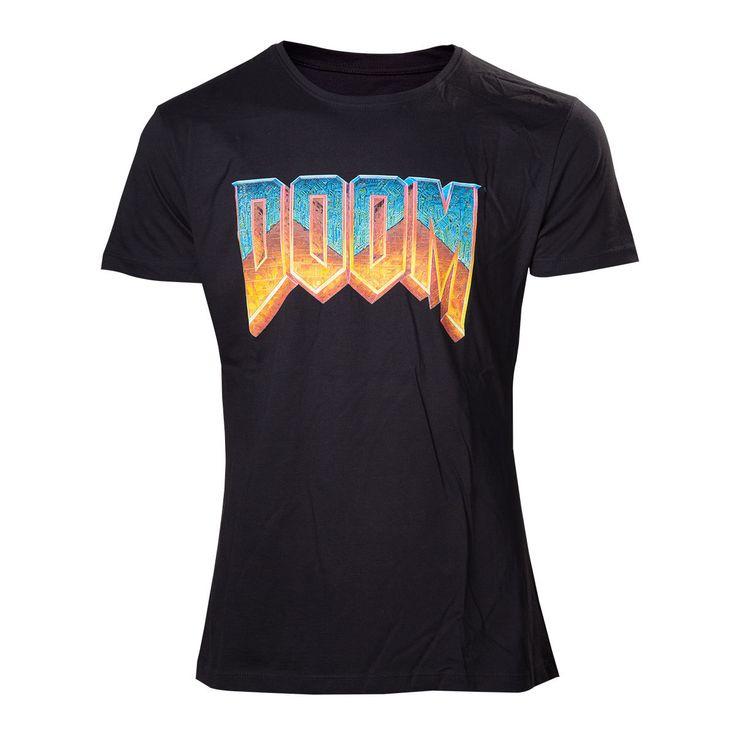 T-Shirt  Doom - Classic Logo