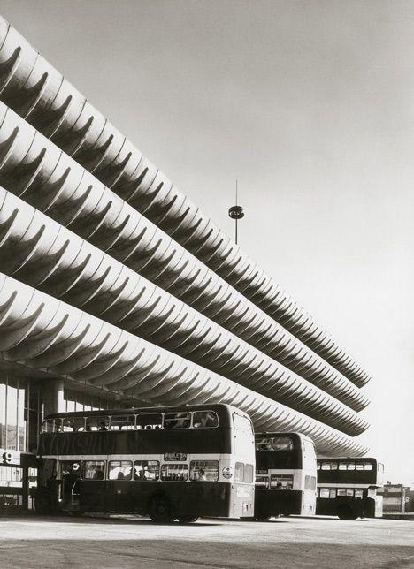 Brutalist buildings: Preston Bus Station by Building Design Partnership.