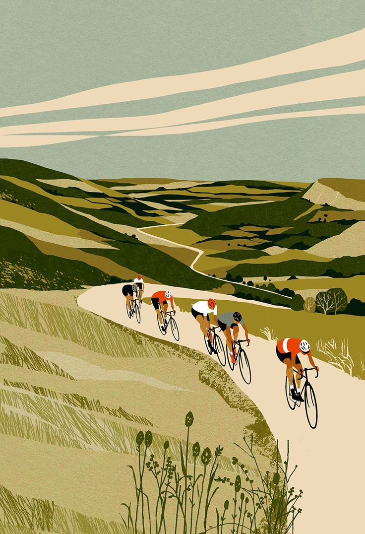 The Cyclist's Bucket List Journal ‹ Eliza Southwood – Illustrator