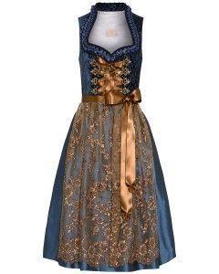 This dress is also ultra pretty. Seiden-Dirndl kurz mit Schürze