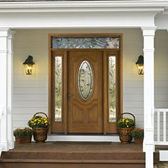 Open up the entry to your home with side and top lites that tie perfectly with your solid wooden exterior door by ETO Doors.
