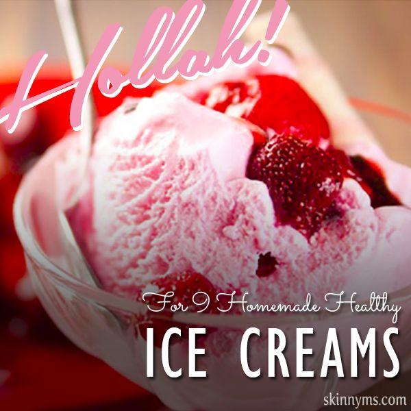 Hollah 9 Homemade Healthy #IceCreams