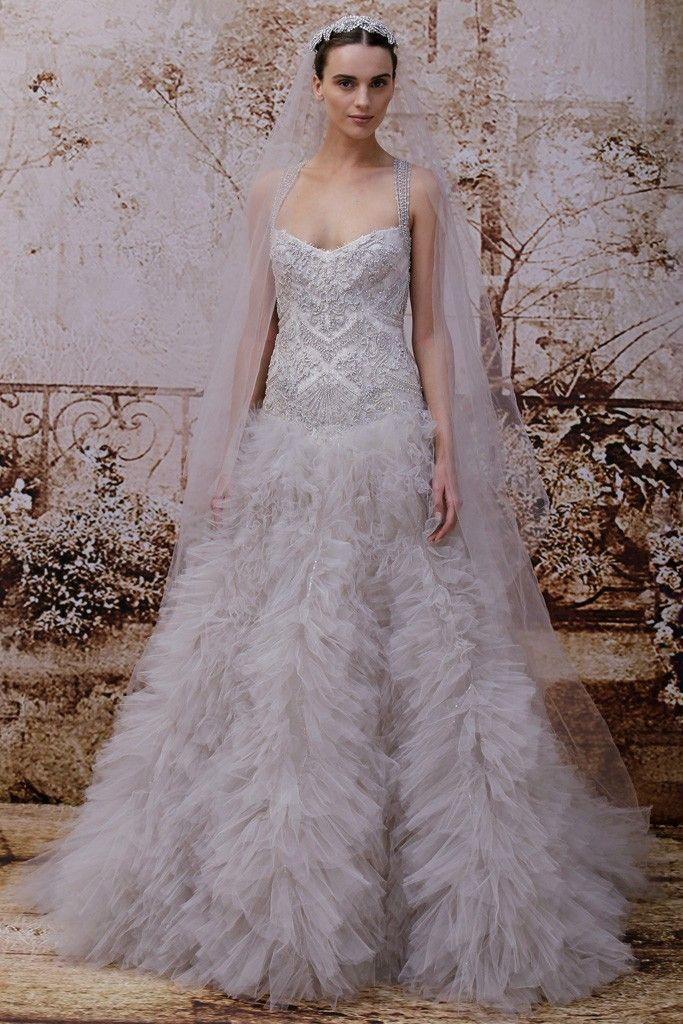 37 best Fall 2014 Bridal images on Pinterest | Wedding frocks ...