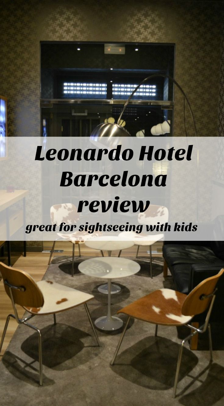 A review of Leonardo Hotel Barcelona which is just a few minutes from Las Ramblas and some of the Catalonian capital's most famous sights. It's the ideal hotel for sightseeing in Barcelona with kids