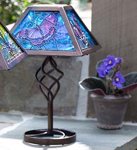 Patio Lights Amazon Ca: 1000+ Images About Butterflies Tiffany Lamps On Pinterest